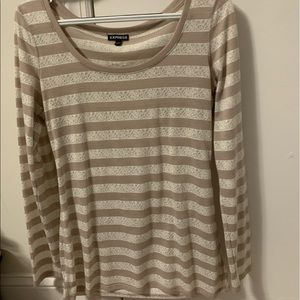 Express long sleeve top